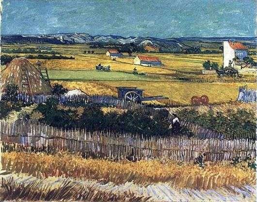 Описание картины Винсента Ван Гога «Ла Кро»