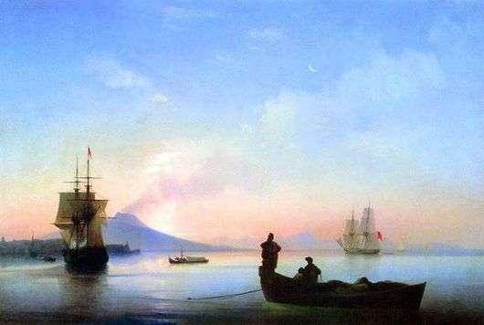 Описание картины Ивана Айвазовского «Неаполитанский залив утром»