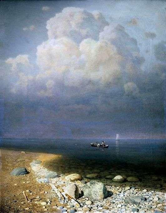 Описание картины Архипа Куинджи «Ладожское озеро»