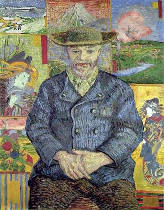Описание картины Винсента Ван Гога «Портрет Папаши Танги»