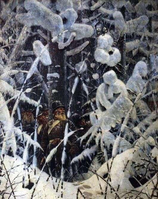 Описание картины Василия Верещагина «Не замай, Дай подойти»