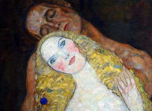 Описание картины Густава Климта «Адам и Ева»