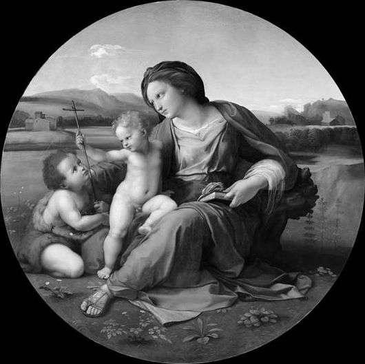 Описание картины Рафаэля Санти «Мадонна Альба»