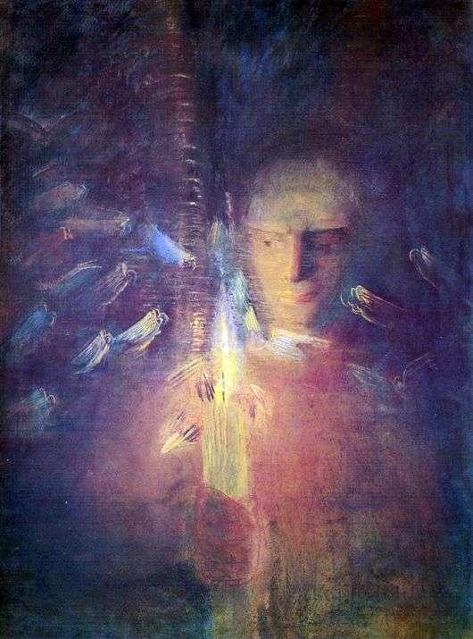 Описание картины Макалоюса Чюрлениса «Истина»