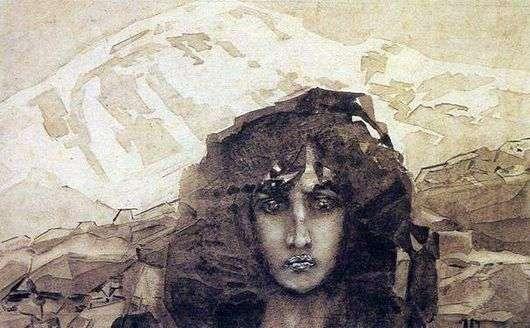 Описание картины Михаила Врубеля «Голова Демона»