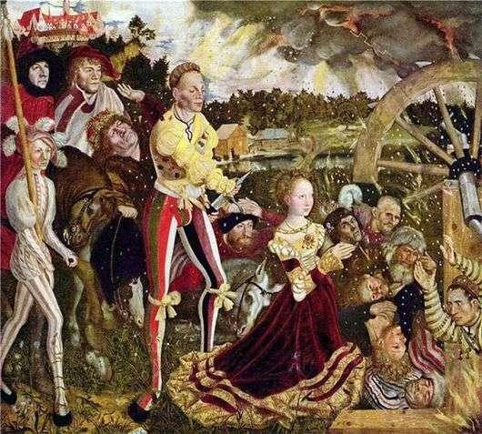 Описание картины Лукаса Кранаха Старшего «Святая Екатерина»