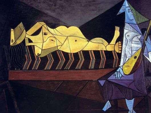 Описание картины Пабло Пикассо «Серенада»
