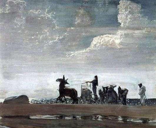Описание картины Валентина Серова «Одиссей и Навсикая»