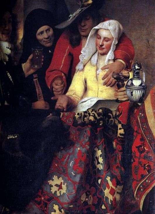 Описание картины Яна Вермеера «У сводни»