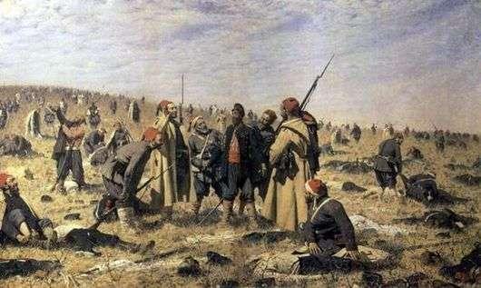 Описание картины Василия Верещагина «Победители»