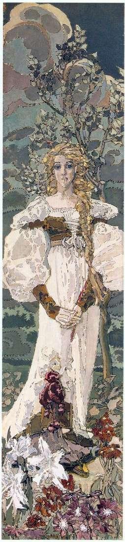 Описание картины Михаила Врубеля «Маргарита»
