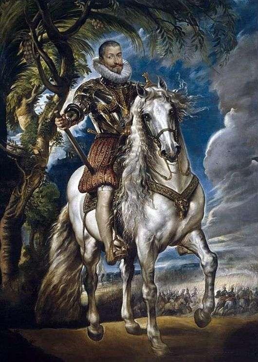 Описание картины Питера Рубенса «Герцог Лерма»