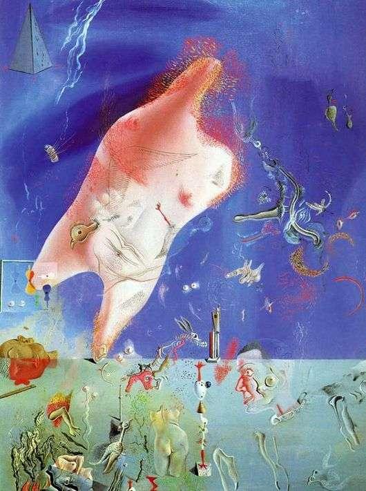 Описание картины Сальвадора Дали «Мелкие останки»