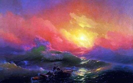 Описание картины Ивана Айвазовского «Девятый вал»