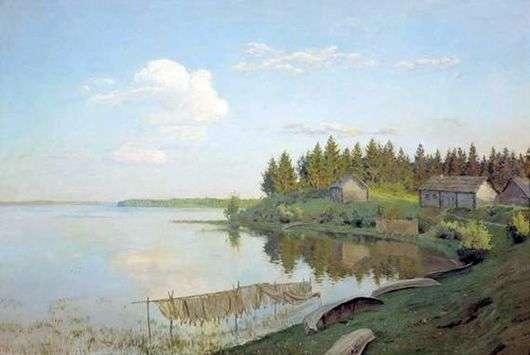 Описание картины Исаака Левитана «На озере»