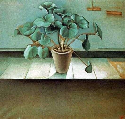 Описание картины Сальвадора Дали «Растение»
