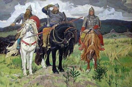 Описание картины Виктора Васнецова ...: opisanie-kartin.com/opisanie-kartiny-viktora-vasnecova-tri-bogatyrya