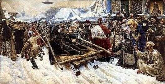 Описание картины Василия Сурикова «Боярыня Морозова»