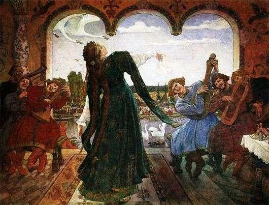 Описание картины Виктора Васнецова «Царевна лягушка»