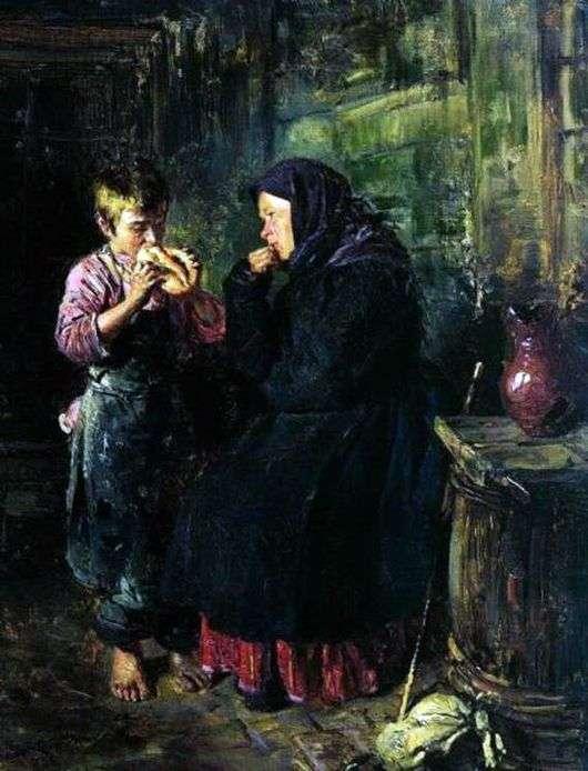 Описание картины Владимира Маковского «Свидание»