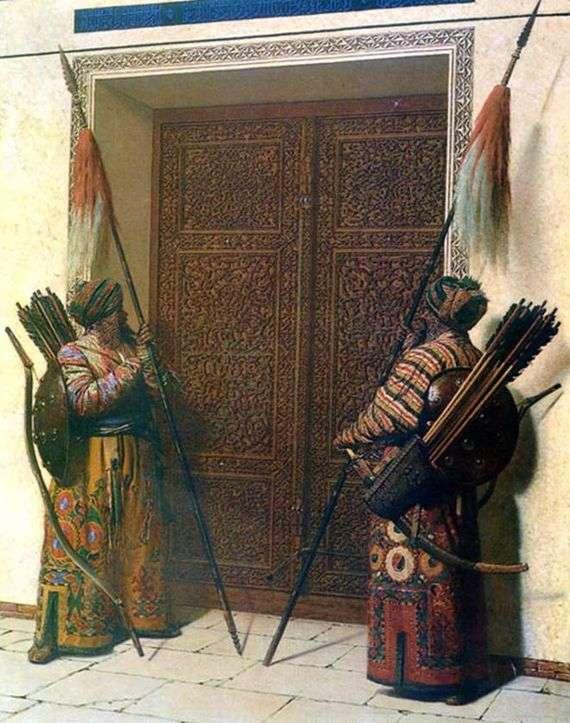 Описание картины Василия Верещагина «Двери Тимура» (Тамерлана)