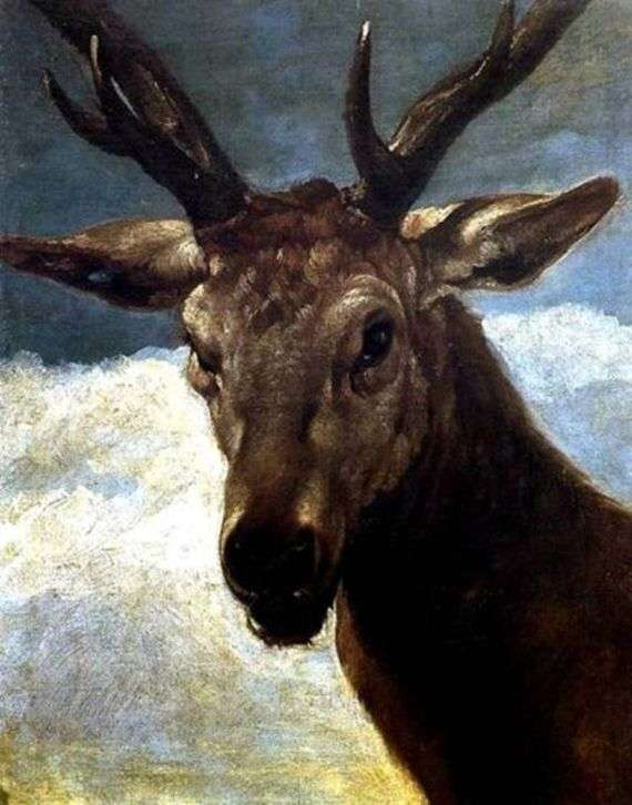 Описание картины Диего Веласкеса «Голова оленя»