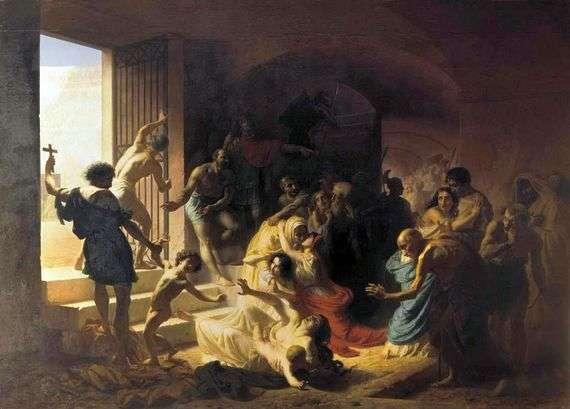 Описание картины Константина Флавицкого «Христианские мученики в Колизее»