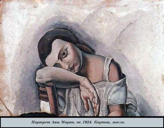 Описание картины Сальвадора Дали «Анна Мария»