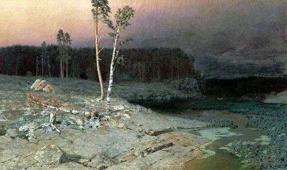 Описание картины Архипа Куинджи «На острове Валааме»