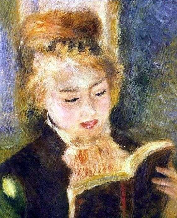 Описание картины Пьера Огюста Ренуара «Читающая девочка»