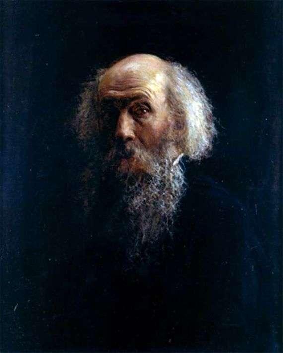 Описание картины Николая Ге «Автопортрет»