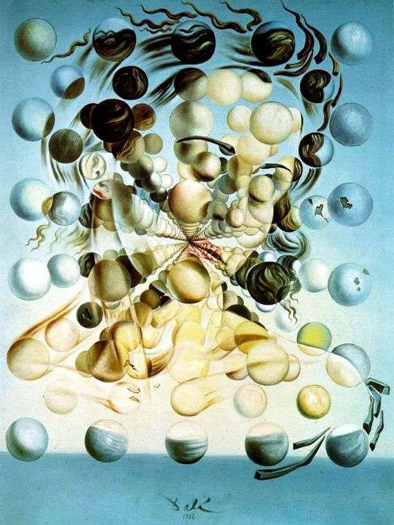 Описание картины Сальвадора Дали «Галатея сфер»