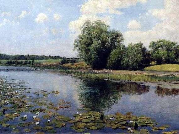 Описание картины Ильи Остроухова «Речка в полдень»