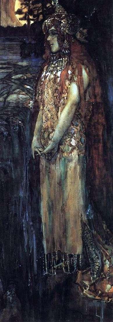 Описание картины Михаила Врубеля «Царевна Волхова»