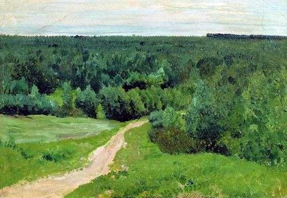 Описание картины Исаака Левитана «Лесные дали»
