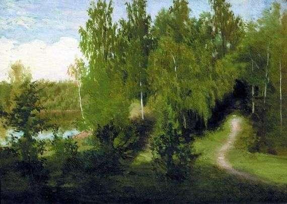 Описание картины Ивана Крамского «Лесная тропинка»