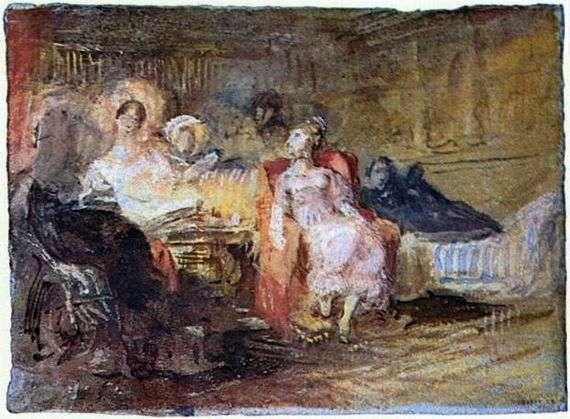 Описание картины Уильяма Тернера «Салон»