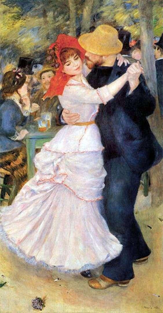 Описание картины Пьера Огюста Ренуара «Танец в Буживале»