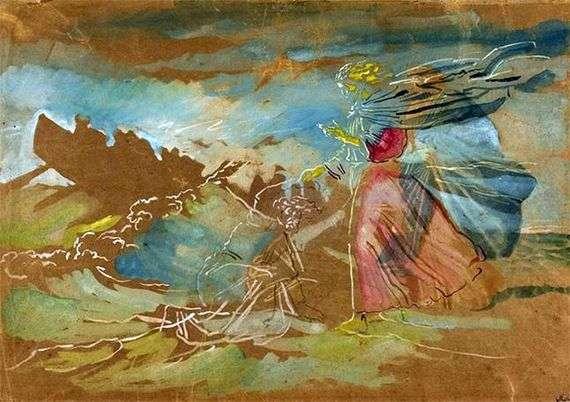 Описание картины Александра Иванова «Хождение по водам»