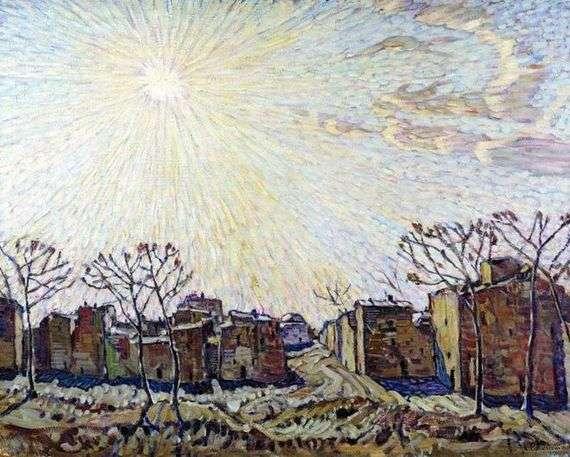 Описание картины Константина Богаевского «Солнце»