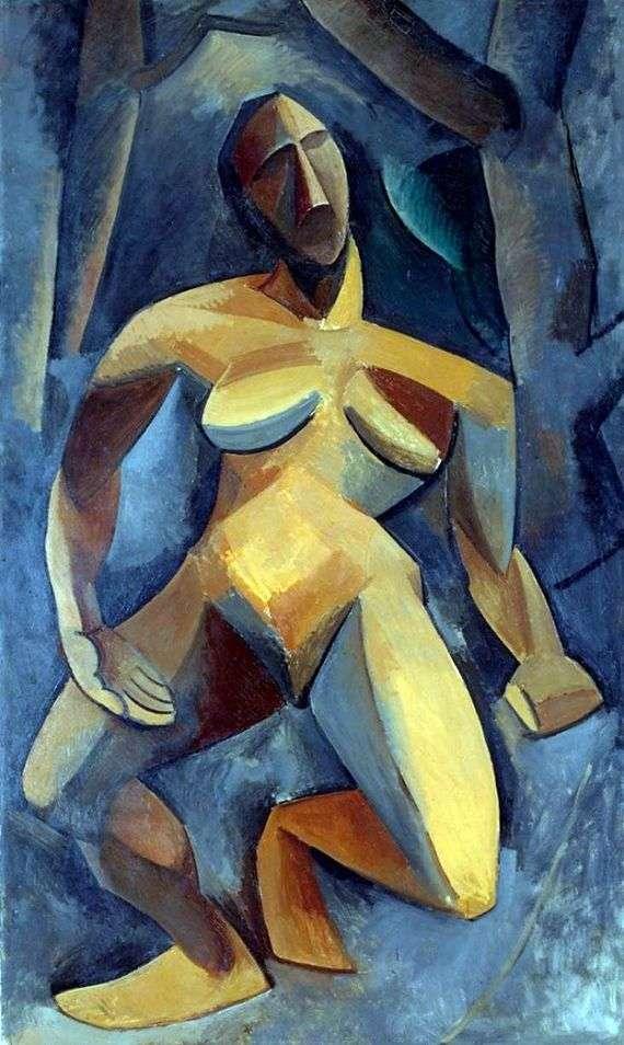 Описание картины Пабло Пикассо «Дриада»