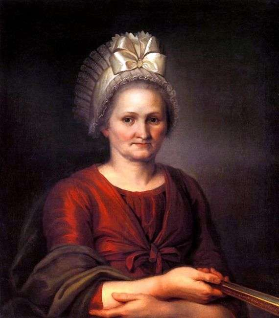 Описание картины Алексея Венецианова «Портрет матери»