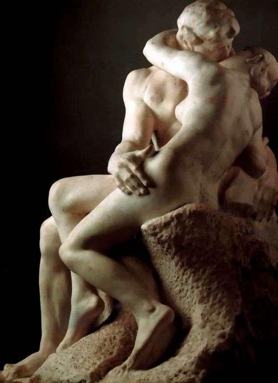 Описание скульптуры Франсуа Огюста Родена «Поцелуй»