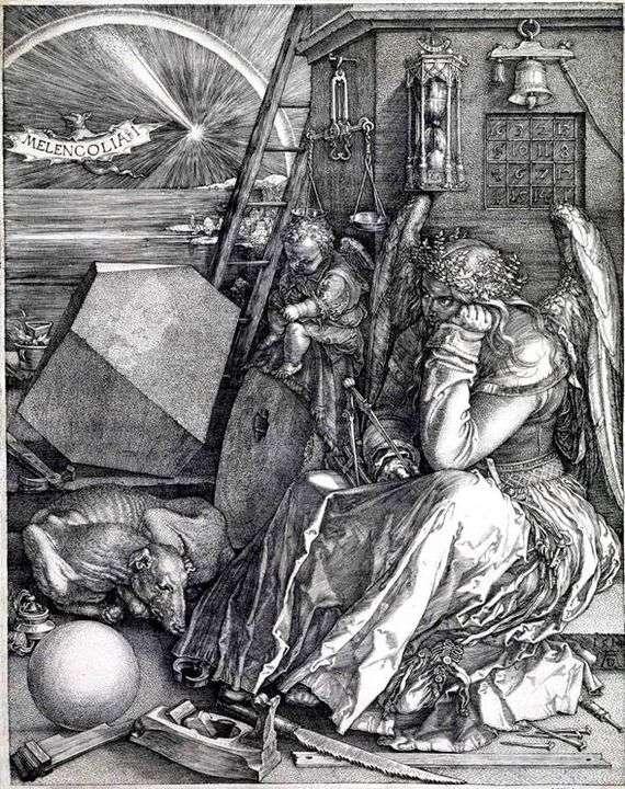 Описание гравюры Альбрехта Дюрера «Меланхолия»