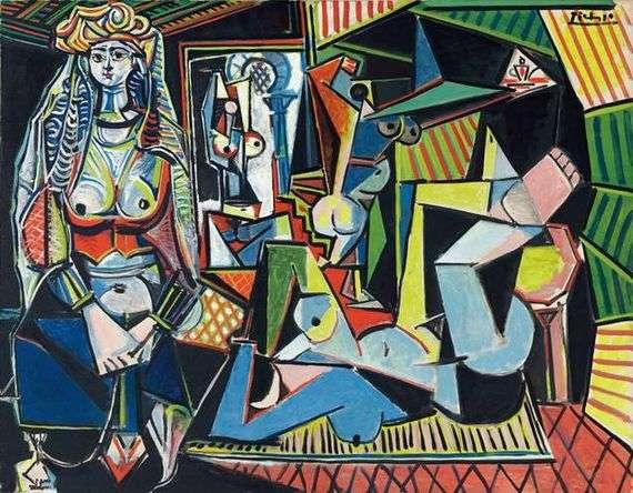 Описание картины Пабло Пикассо «Алжирские женщины»