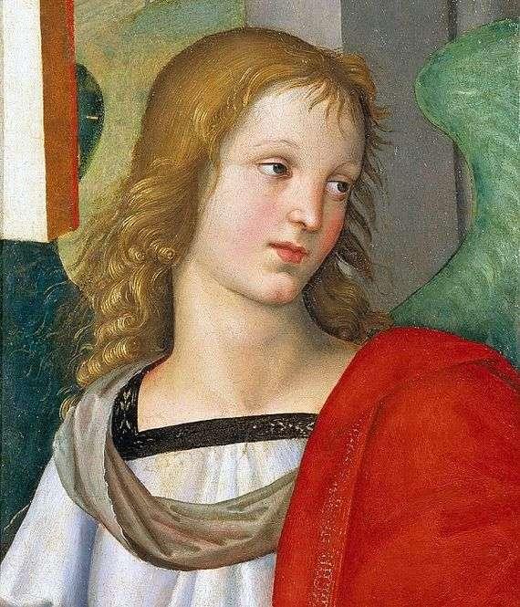 Описание картины Рафаэля Санти «Ангел»
