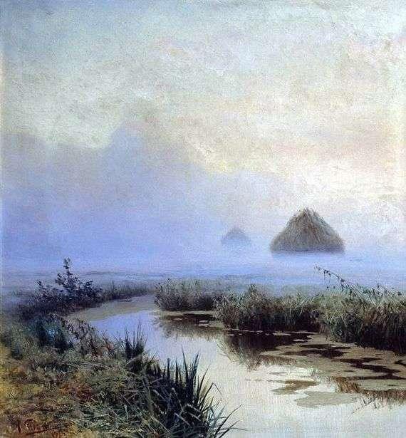 Описание картины Николая Сергеева «Туман»