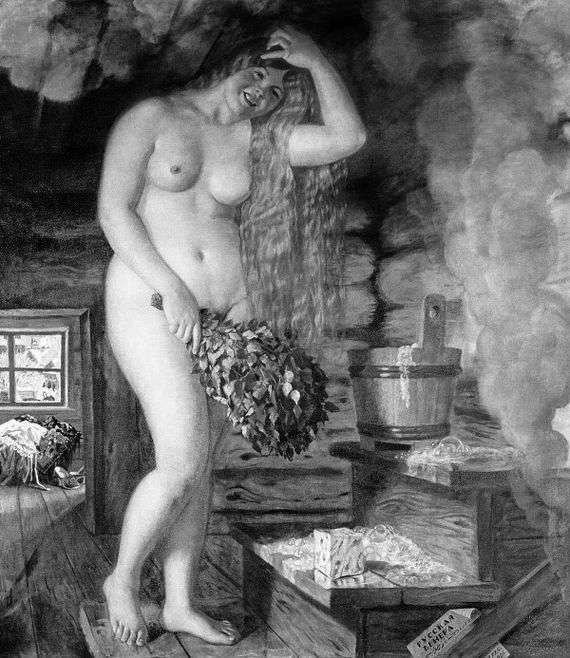 Описание картины Бориса Кустодиева «Русская Венера»