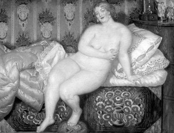 Описание картины Бориса Кустодиева «Красавица»