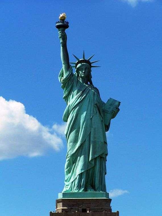 Описание статуи Свободы в Нью Йорке